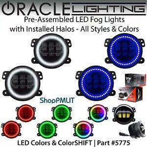ORACLE Pre-Assembled Halo LED Fog Lights for 05-08 Dodge Magnum *All Colors