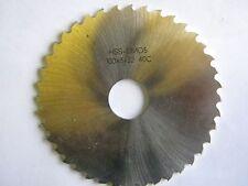 Metallkreissägeblatt 100 x 3 x 22, 40 Zähne, HSSDMO5, DIN 1838C