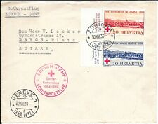 SWITZERLAND 1939 RED CROSS COVER