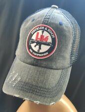 Heckler and Koch Distressed Hat Unstructured Hat Heckler & Koch No Compromise