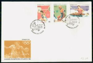 Mayfairstamps Western Sahara FDC 1995 Olympics Combo Weightlifting First Day Cov