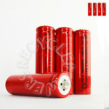 4 x AA LR6 UM3 3000mAh Ni-MH Rechargeable Battery RED Cell 2A