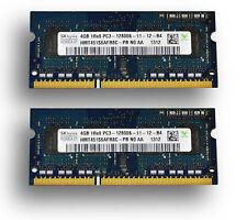 Generic 8GB (2 x 4GB Modules) DDR3 1600MHz PC3L-12800 204 Pin SODIMM