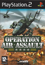 OPERATION AIR ASSAULT for Playstation 2 PS2 - with box & manual - PAL