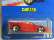 Hot Wheels Hard To Find Red 93 CAMARO with 5 Spoke Wheels #262