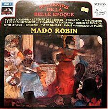 MADO ROBIN souvenirs de la belle epoque LP 1959 plaisir d'amour/si tu le veux EX