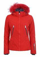 Icepeak Damen Freizeit-Ski-Jacke Trendige Jacke Eden rot
