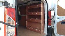 PEUGEOT EXPERT  2007 onwards Van Racking Plywood Shelving  Van Storage