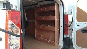 FIAT SCUDO  2007 onwards Van Racking Plywood Shelving  Van Storage