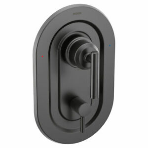 Moen Gibson T2900BL Matte Black Posi-Temp Shower Faucet w/3-Function Transfer