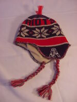New England Patriots Sock Hat Cap - NFL Vintage Collection Reebok - One Size