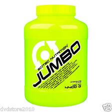 GAINER Massa SCITEC NUTRITION Jumbo 4400 GR 32 porzioni CIOCCOLATO 0728633102853