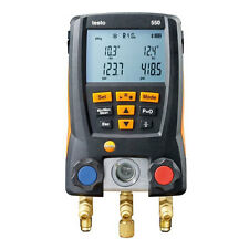 Testo 550 RSA kit Digital Manifold for Refrigeration Systems, Clamp Probe