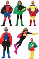 CHILD SUPERHERO HERO SUPERMAN BATMAN SUPER VILLIAN COSTUME BOOT TOPS SHOE COVERS