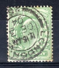 SG. 217/ 218. 1/2d yellow green :very fine used : LONDON