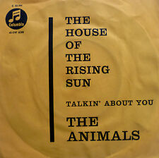 "7"" 1964 originale VG + +! ANIMALS House of the Rising Sun"