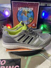 BA8237 - Adidas Adizero Tempo 9 Grey Solar Yellow - Size: Mens 11 Running