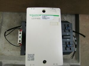 SCHNEIDER ELECTRIC LC1F4002 CONTACTOR (VERY NICE TAKE OUT)