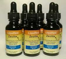 2 Bottles Liquified Zeolite Natural Liquid Detox 1 Oz