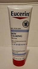 (1) 8 oz Eucerin Skin Calming Cream for Dry,Itchy Skin