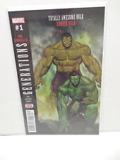 Marvel Comic Book Team-Up Generations #1 Totally Awesome Hulk & Banner Hulk