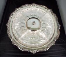 Vtg Htf International Silver 1847 Rogers Bros. Heritage Lazy Susan Complete 0082
