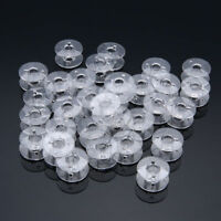 30tlg SA156 Transparente Spulen Spule Nähmaschinenspulen für Brother Nähmaschine