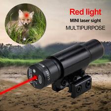 New Red Dot Laser Sight Zielfernrohr Mit 11/20mm Picatinny Schienenmontage