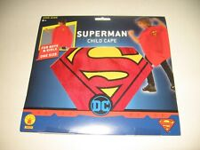 Superman - Kids Cape -New in Package - Halloween, Dressup, Birthday