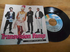 "7"" Pop Transvision Vamp - I Want Your Love (3 Song) MCA REC / GERMAN"