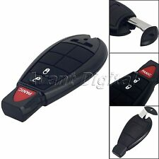 Black Keyless Entry Remote Key Start Control Transmitter Fob For Dodge Chrysler