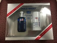 POLO SPORT Ralph Lauren Men's 2 Pc Gift Set, EDT Spray 2.5oz/ Deodorant 2.5oz
