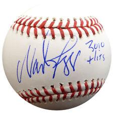 "Wade Boggs Autographed Signed Mlb Baseball Red Sox ""3010 Hits"" Beckett 137959"
