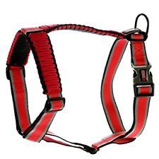KONG Reflective Adjustable Dog Harness -XS- Red  12-18 in- UPC737257604964
