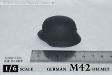1/6 Scale Soldier Story WWII Germans M42 Metal Helmet Hat Cap Figure Model
