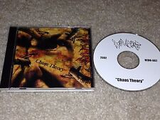 WOUNDS Chaos Theory 2002 CD THRASH sodom overkill kreator morbid saint merciless