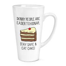 Le persone Skinny sono più facili a rapire assaggiato una torta 17oz Grande Tazza Latte Macchiato