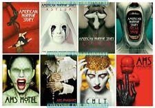 American Horror Story Complete Series Seasons 1 2 3 4 5 6 7 & 8 New DVD Set 1-8