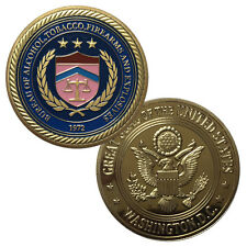 Bureau of Alcohol, Tobacco, Firearms and Explosives (ATF) Challenge Coin
