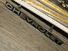 """1972-1975""""CHEVROLET""""-Schriftzug/Script im Grill Impala,Bel Air,Biscayne,New-NOS"""
