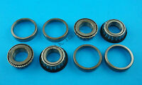 """FREE P&P* 2 x Wheel Bearings L44643 L44610 to fit 1"""" Axle for Unbraked Trailers"""