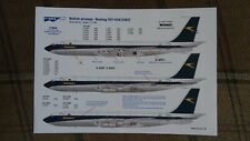 Decal for  Boeing 707  1/144   BOAC ( F-DCAL silk )