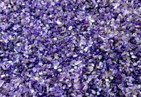MINI AMETHYST Chips 3-9mm semi-tumbled 1/2 lb bulk stones quartz
