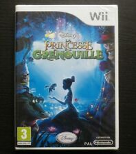 LA PRINCESSE ET LA GRENOUILLE : JEU Nintendo Wii (Disney NEUF envoi suivi)
