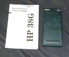 Vintage HP 38G 38 G Scientific Calculator w/ original Manual!