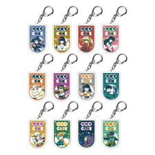 NEW Rare Inuyasha Cafe Acrylic Key Holder Key Chain 12 Types Official Japan