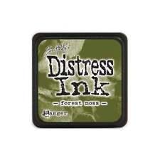Tim Holtz Mini Distress Ink Pad FOREST MOSS Dark Green