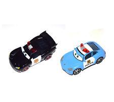 Disney Pixar Movie Cars Diecast Lightning Mcqueen Sheriff & Sally Police Officer