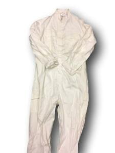 British Army White Cotton Overalls, grade 1