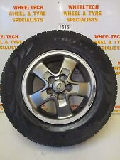 LAND ROVER DISCOVERY TD5 ALLOY WHEEL & TYRE 255/65R16 AROUND 4MM TREAD LEFT